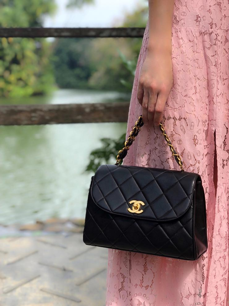 Chanel Vintage Top Handle
